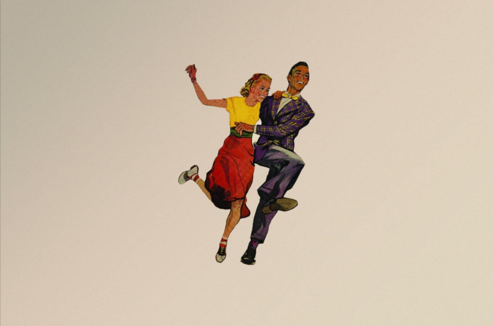 Danseurs swing vintage